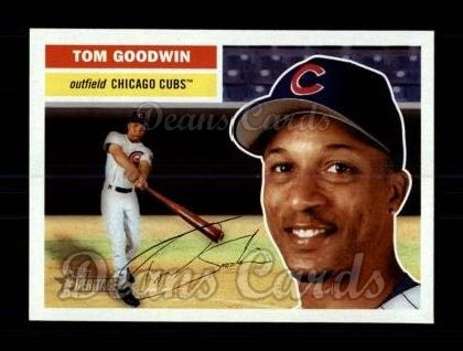 2005 Topps Heritage #128  Tom Goodwin
