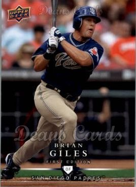 2008 Upper Deck First Edition #157  Brian Giles