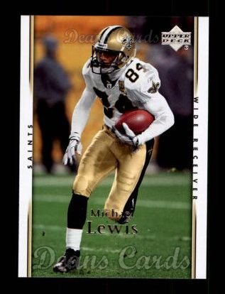 2007 Upper Deck #116  Michael Lewis