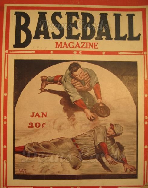 1929 Baseball Magazine    January