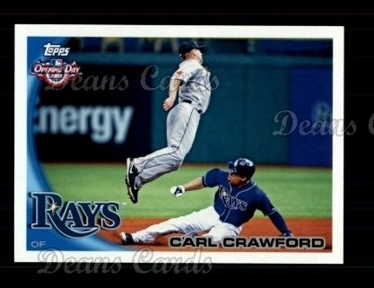 2010 Topps Opening Day #45  Carl Crawford