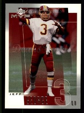 2001 Upper Deck MVP #271  Jeff George