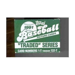 1991 Topps     Baseball Traded Complete Set