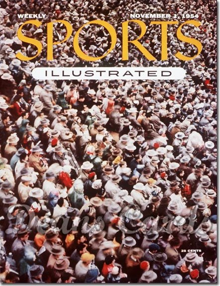 1954 Sports Illustrated L  Nov 1  -  Football Fans Sooners