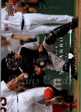 2008 Upper Deck First Edition #70  Dioner Navarro