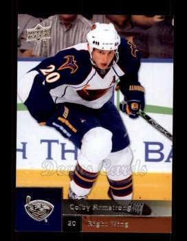 2009 Upper Deck #80  Colby Armstrong