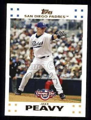 2007 Topps Opening Day #28  Jake Peavy