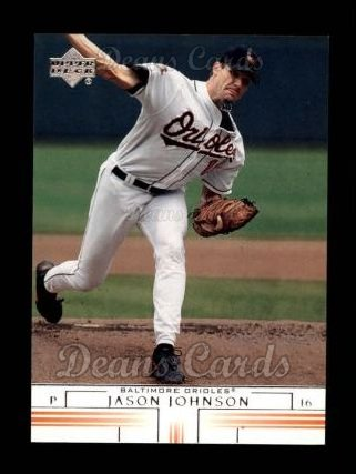 2002 Upper Deck #136  Jason Johnson