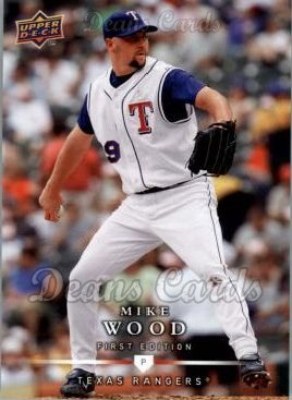 2008 Upper Deck First Edition #178  Mike Wood