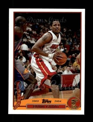 2003 Topps #44  Brian Grant