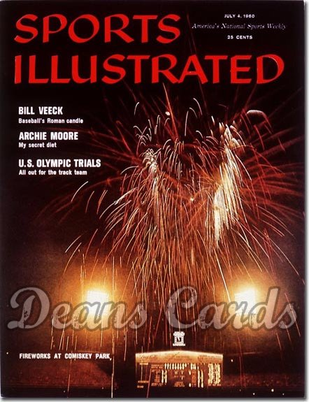 1960 Sports Illustrated   July 4  -  Comiskey Park (Chicago White Sox)