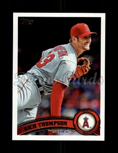 2011 Topps Update #286  Rich Thompson