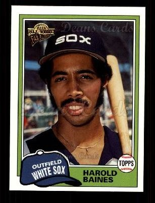 2003 Topps All-Time Fan Favorite #129  Harold Baines