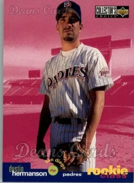 1995 Upper Deck Collector's Choice #25  Dustin Hermanson