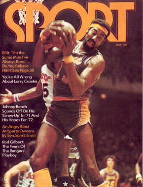 1972 Sport Magazine   -  Wilt Chamberlain  March