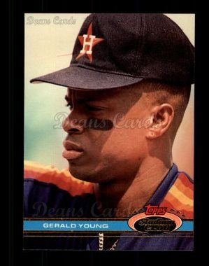 1991 Topps Stadium Club #494  Gerald Young