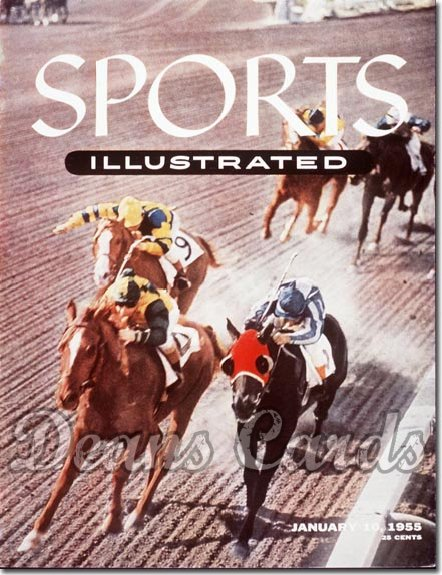 1955 Sports Illustrated   January 10  -  Santa Monica Track (Horseracing)
