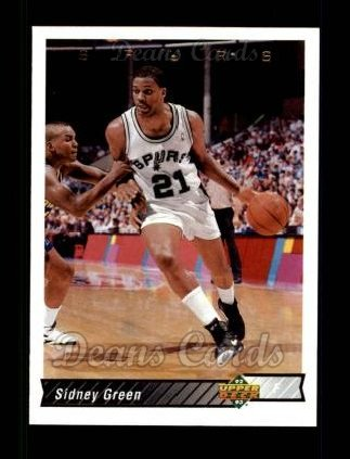 1992 Upper Deck #204  Sidney Green