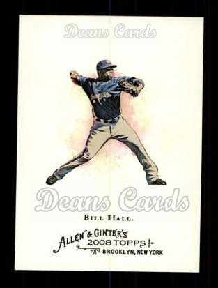 2008 Topps Allen & Ginter #34  Bill Hall