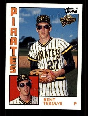 2003 Topps All-Time Fan Favorite #134  Kent Tekulve