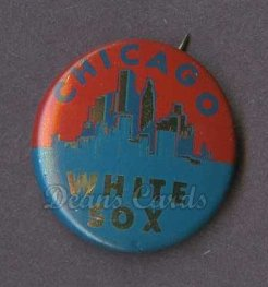 1964 Cranes Potato Chip Pin #4   Chicago White Sox
