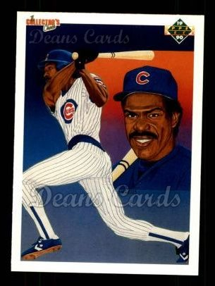 1990 Upper Deck #73   -  Andre Dawson Chicago Cubs Team