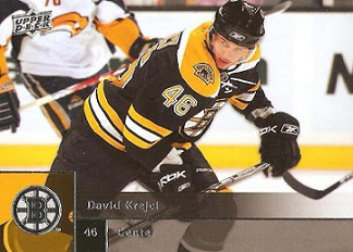 2009 Upper Deck #2  David Krejci