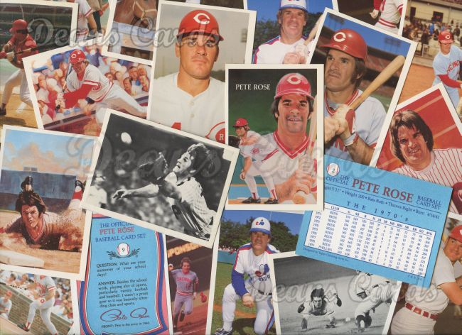 1985    Official Pete Rose Baseball Card Set