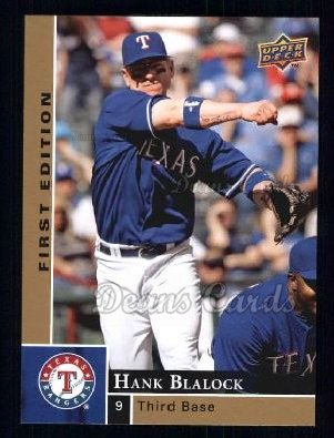 2009 Upper Deck First Edition #286  Hank Blalock