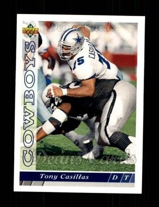 1993 Upper Deck #417  Tony Casillas