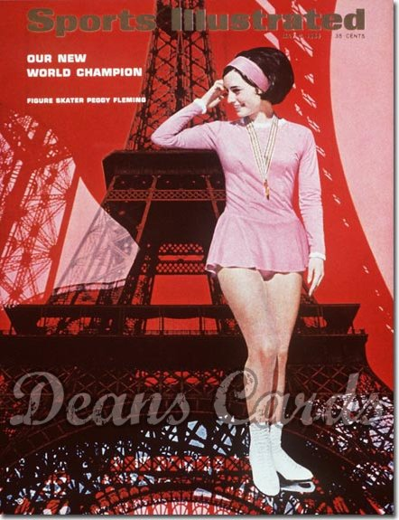 1966 Sports Illustrated - With Label   May 2  -  Peggy Fleming Figure Skating