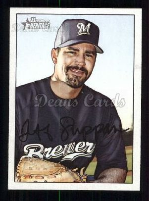 2007 Bowman Heritage #161  Jeff Suppan