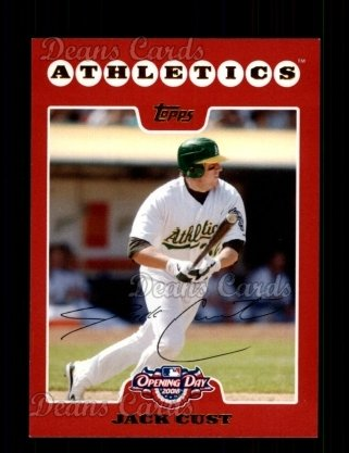2008 Topps Opening Day #41  Jack Cust