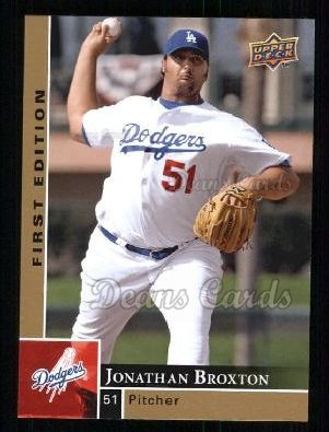 2009 Upper Deck First Edition #161  Jonathan Broxton