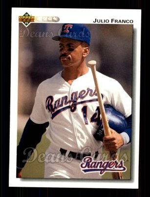 1992 Upper Deck #241  Julio Franco
