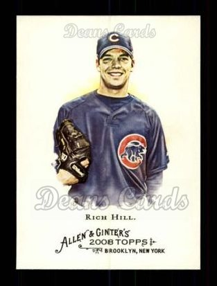 2008 Topps Allen & Ginter #226  Rich Hill