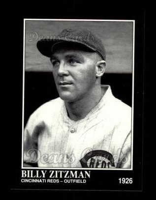 1992 Conlon #570  Billy Zitzmann