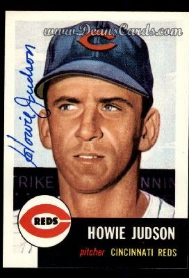 1991 Topps 1953 Archives #12  Howie Judson