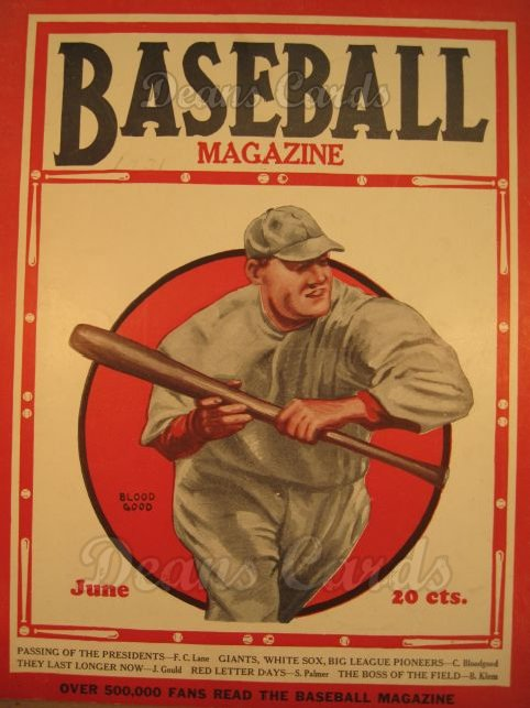 1931 Baseball Magazine    June