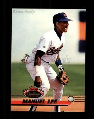 1993 Topps Stadium Club #713  Manuel Lee