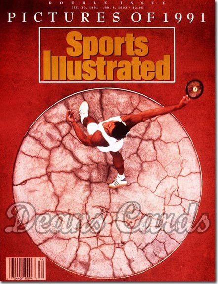 1991 Sports Illustrated - With Label   December 30  -  Christian Scenic (Discus Thrower) (Pictures of )