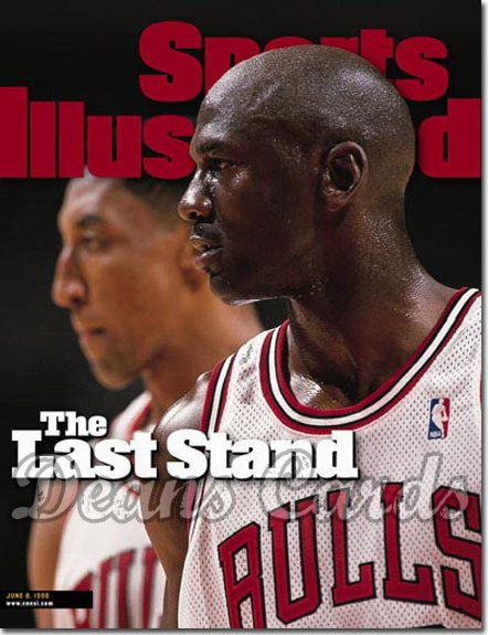 1998 Sports Illustrated   June 8  -  Michael Jordan / Scottie Pippen (Chicago)