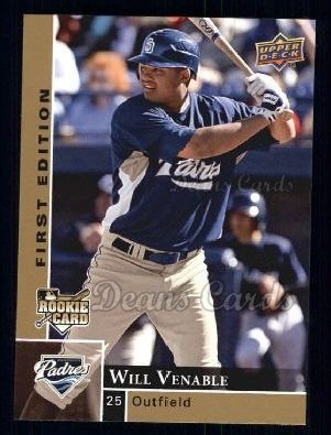 2009 Upper Deck First Edition #238  Will Venable