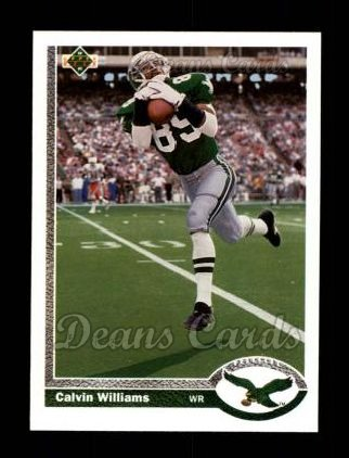 1991 Upper Deck #254  Calvin Williams
