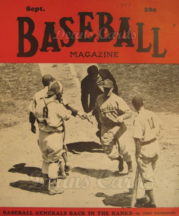1943 Baseball Magazine    September