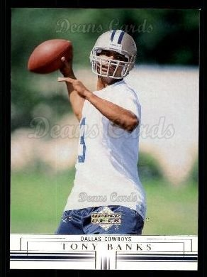 2001 Upper Deck #46  Tony Banks