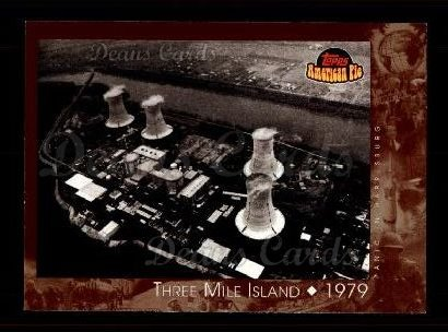 2001 Topps American Pie #139   Three Mile Island