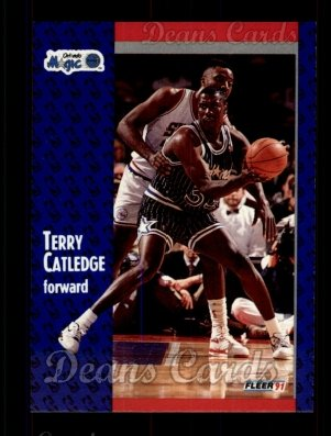 1991 Fleer #144  Terry Catledge
