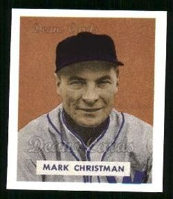 1949 Bowman REPRINT #121  Mark Christman