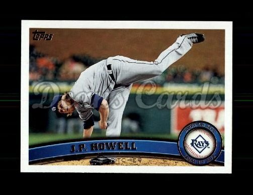 2011 Topps Update #206  J.P. Howell